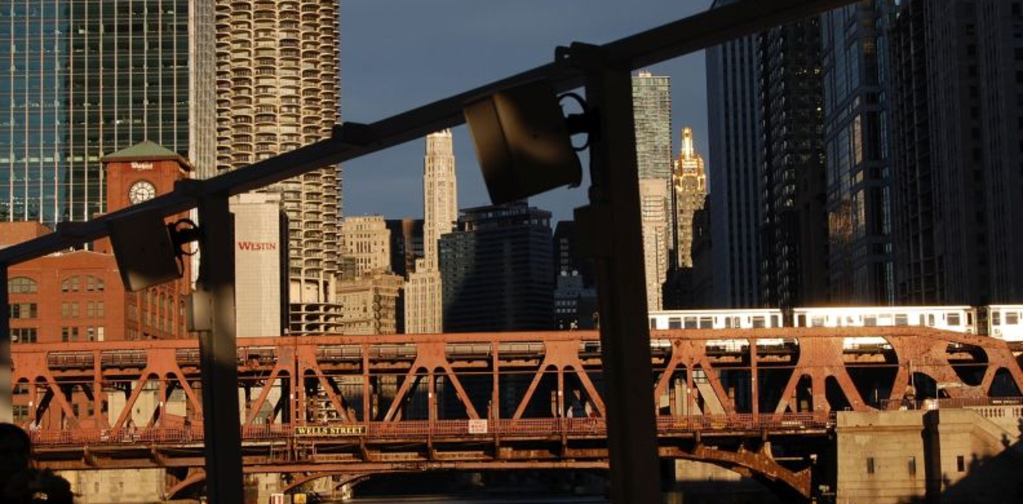 Brücke in Chicago